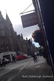 Ruth Jefferys Edinburgh