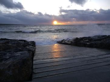 Lahinch sunset - Orla O Muiri